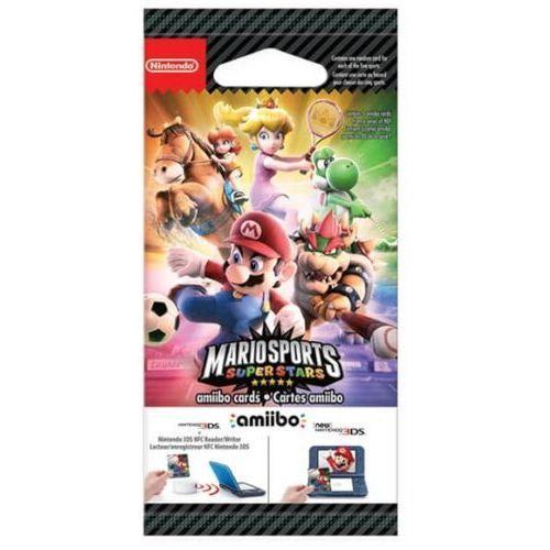 Karty mario sports superstars amiibo card 5 szt. (2ds/3ds) marki Nintendo
