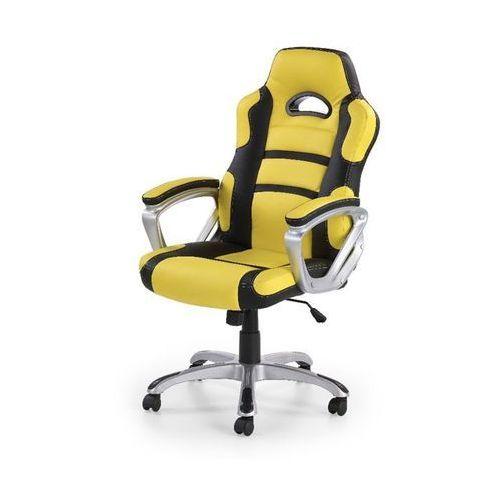 Apis fotel gamingowy dla graczy żółto-czarny marki Style furniture