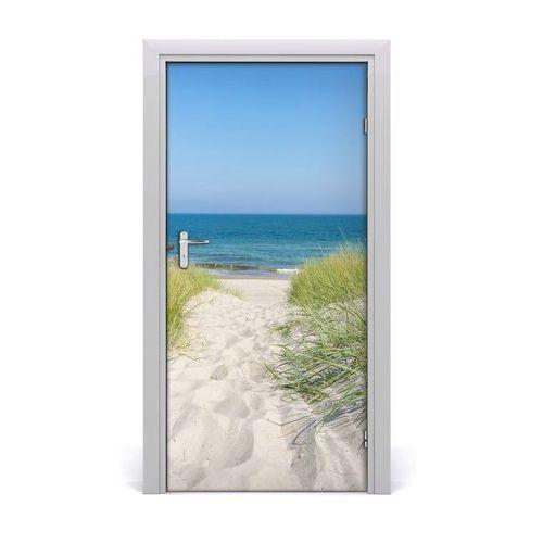 Naklejka na drzwi samoprzylepna Nadmorskie wydmy