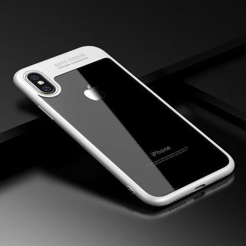 "Etui ""Auto Focus"" dla iPhone 7 Plus - Białe - Biały \ iPhone 7 Plus"