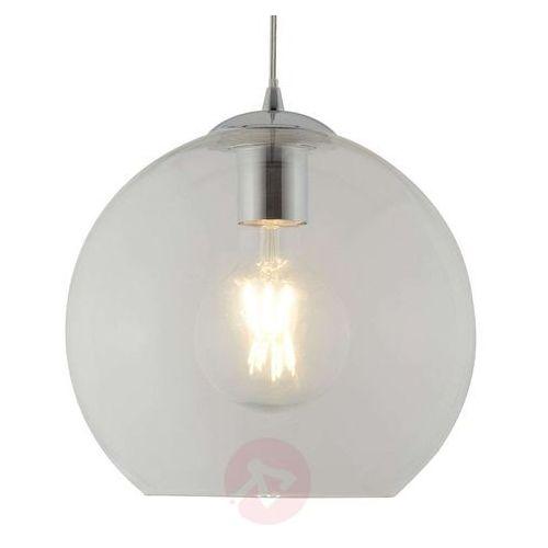 Searchlight Szklana lampa wisząca balls, 25 cm, przezroczysta (5053423096155)
