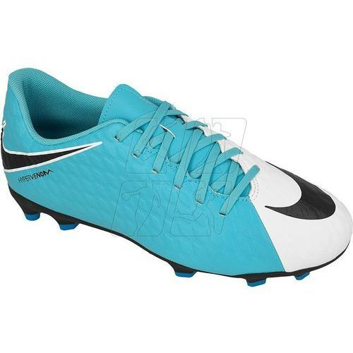 Buty piłkarskie Nike Hypervenom Phade III FG Jr 852580-104, 852580-104
