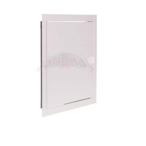 Sabaj-system sp. z o.o. Drzwiczki rewizyjne metalowe 35 x 35 cm białe ral 9003 z zatrzaskiem rd-3535
