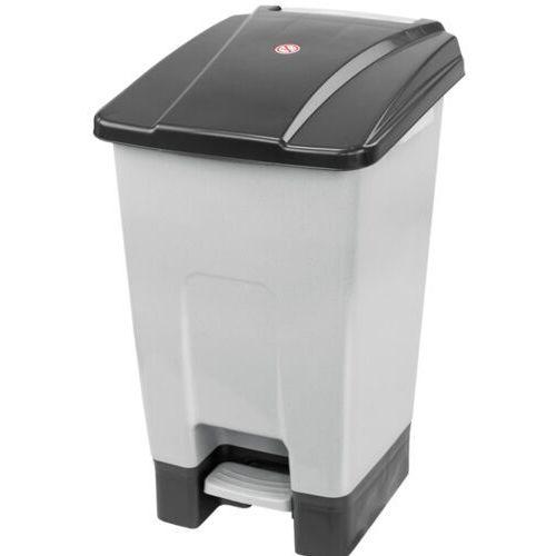 Kosz na śmieci otwierany przyciskiem pedałowym 70 L czarny Kosz na odpady medyczne, Kosz do szpitala, kolor czarny