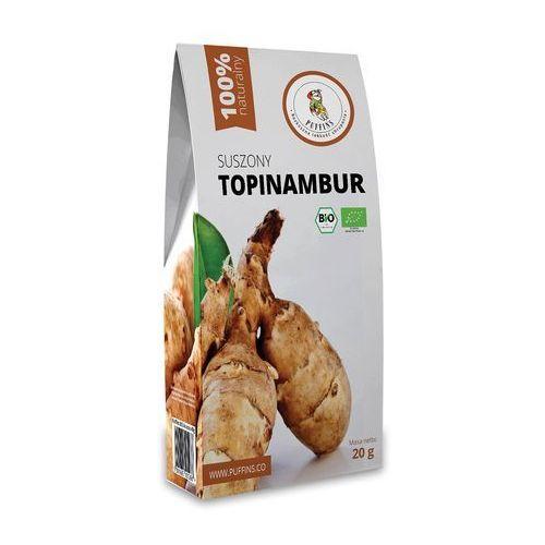 Topinambur suszony bio 20 g - puffins marki Puffins (owoce suszone próżniowo)