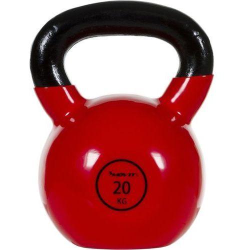 Movit ® Movit® hantla żeliwna kula kettlebell ketla 20kg - 20 kg (20040460)