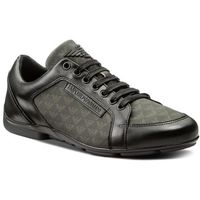 Sneakersy EMPORIO ARMANI - X4C468 XL020 A792 Black/Black/Black, w 3 rozmiarach