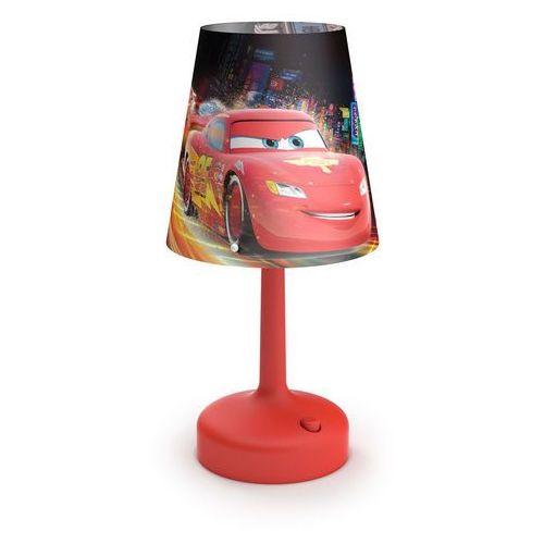 71796/32/16 - lampa stołowa dla dzieci disney cars led/0,6w/3xaa marki Philips