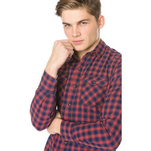 Pepe Jeans Ledbury Shirt Niebieski Czerwony S, kolor niebieski