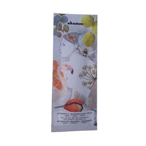 Davines authentic moisturizing balm | nawilżający balsam do twarzy, włosów i ciała - 12ml
