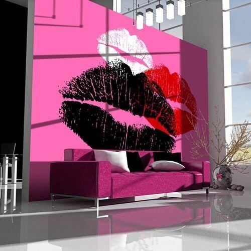 Artgeist Fototapeta - trzy pocałunki