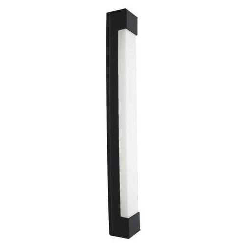 Shilo Natynkowa lampa sufitowa sumoto 8031/g5/cz łazienkowa oprawa prostokątna listwa ip44 czarna
