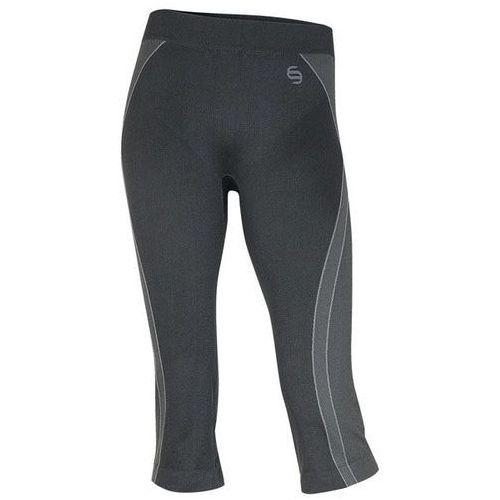Brubeck sp00140 spodnie damskie 2/3 fitbalance czarny