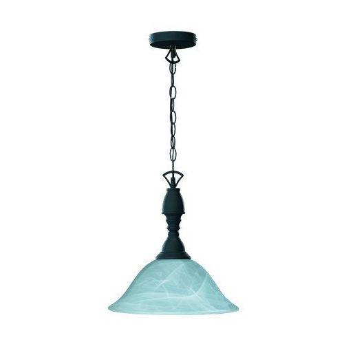 Trio RL Country R30871024 lampa wisząca zwis 1x60W E27 rdzawy / alabaster, kolor Brązowy
