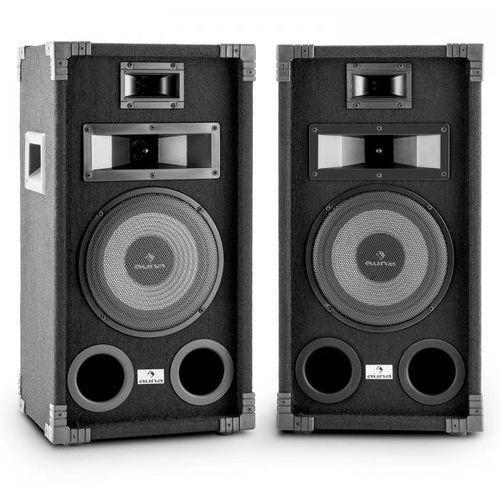 """Auna Pa-800 fullrange kolumna nagłośnieniowa para 8"""" głośnik niskotonowy800w max."""
