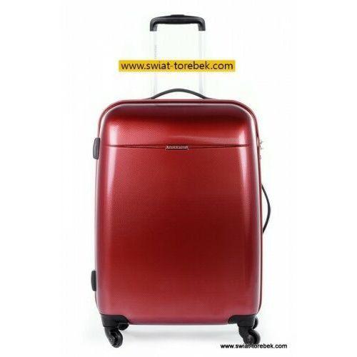 PUCCINI walizka duża z kolekcji PC005 VOYAGER twarda 4 koła materiał Policarbon zamek szyfrowy z systemem TSA, PC005 A