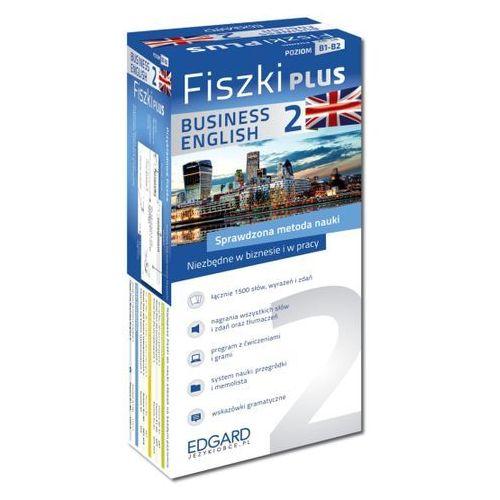 Angielski Fiszki PLUS. Business English 2 - Wysyłka od 3,99 - porównuj ceny z wysyłką, Edgard