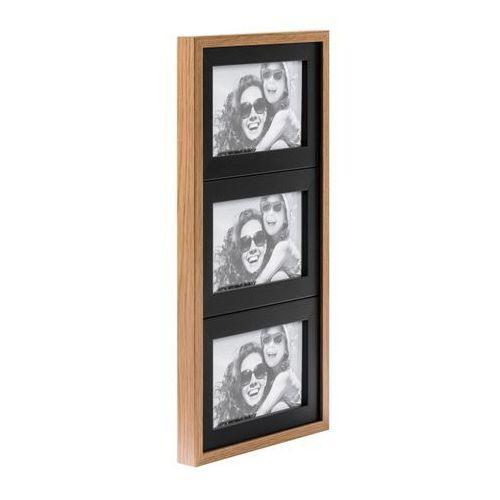 Galeria na zdjęcia Duo 3 x (10 x 15 cm) czarna dąb, F31015M002M015