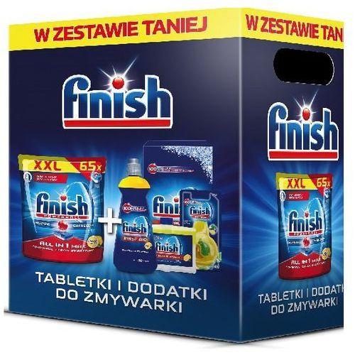 Zestaw środków FINISH do zmywarek DARMOWY TRANSPORT (5900627091526)