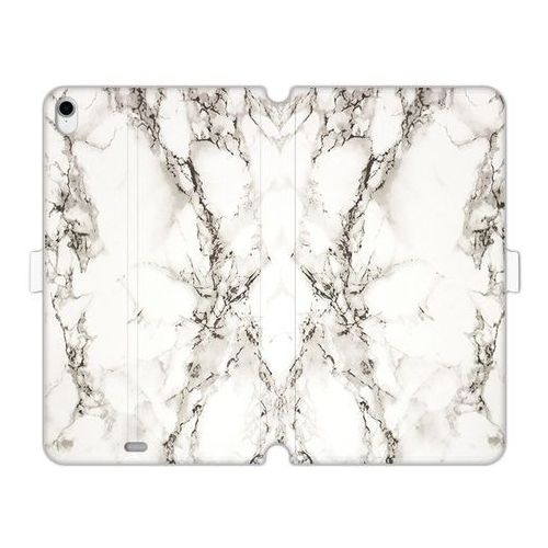 Apple iPad Pro 11 - etui na tablet Wallet Book Fantastic - biały marmur
