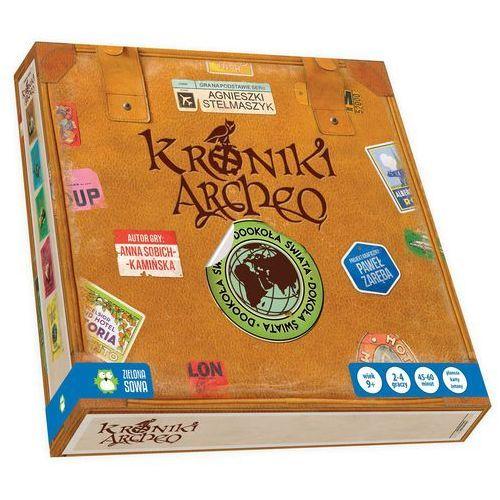 Gra Kroniki Archeo. Dookoła świata + zakładka do książki GRATIS, AM_5901761114836