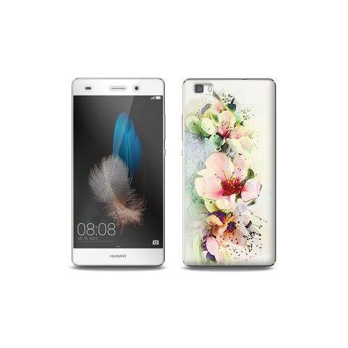 Huawei P8 Lite - etui na telefon Full Body Slim Fantastic - róże herbaciane, ETHW190FBSFFC004000