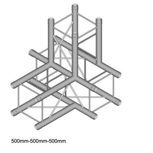 DuraTruss DT 24-T40 element konstrukcji aluminiowej 4-drożny 50cm