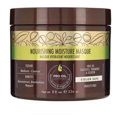 nourishing moisture - odżywcza maska do włosów normalnych i grubych 236ml marki Macadamia