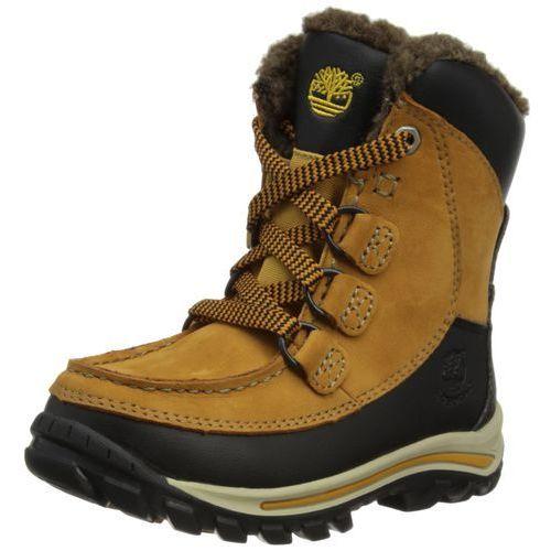 Timberland hp wp boot, uniseks – dzieci trzewiki zimowe - brązowy - 39 eu