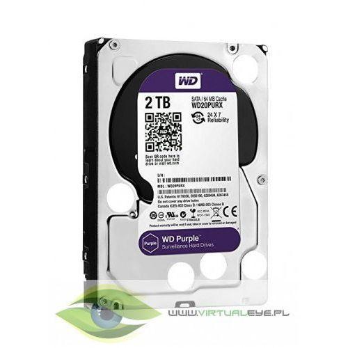 Purple wd20purz 2tb 64mb sataiii 5400rpm marki Western digital