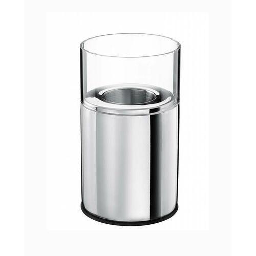 Świecznik stalowo - szklany marki Verlo