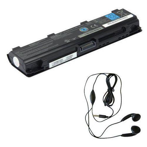 amsahr tsa5025u1brs-03 bateria zamienna do Toshiba PA5025U-1BRS, C800, C800D, c805, c805d, C840, c840d – obejmują Stereo Słuchawki douszne Czarny