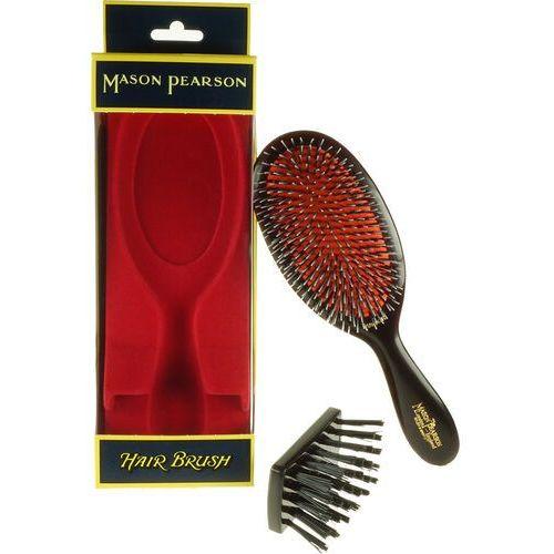 junior bristle and nylon - duża szczotka do włosów naturalnych i przedłużanych marki Mason pearson