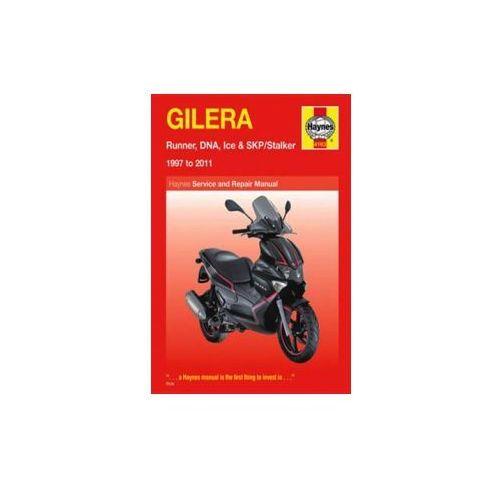 Gilera Runner, DNA, Ice & SKP/Stalker Service And Repair Manual : 1997 To 2011 (9780857335456)