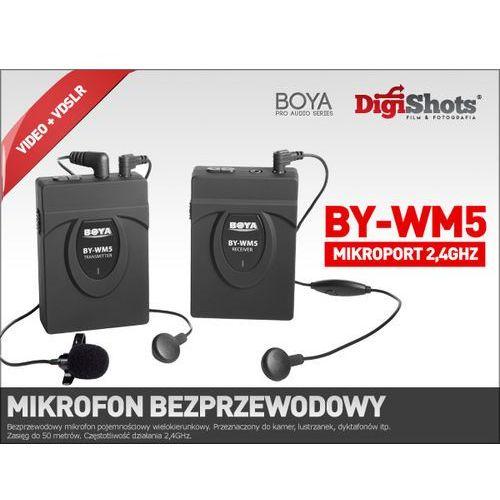 BY-WM5 Mikrofon bezprzewodowy, mikroport