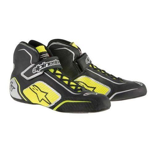 Buty Alpinestars TECH 1-T czarno/żółte (homologacja FIA)