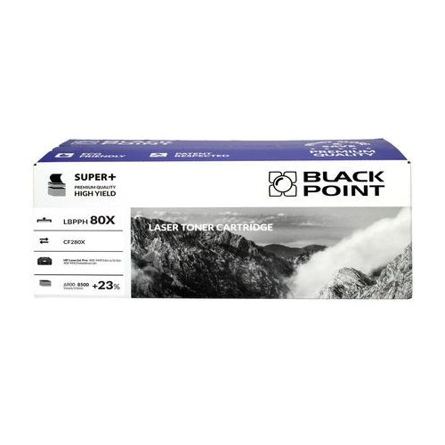Toner HP CF280X czarny 8.5k BPSuper+