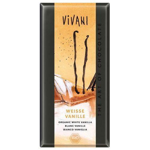 Vivani : czekolada biała z wanilią bio - 100 g (4044889000740)