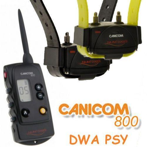 Num'axes Canicom 800 obroże elektryczne dla 2 psów