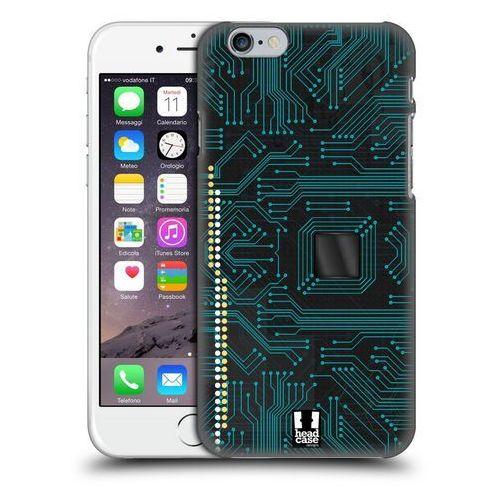 Head case Etui plastikowe na telefon - circuit boards black