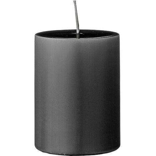 Bloomingville Świeca 10 cm ciemnoszara