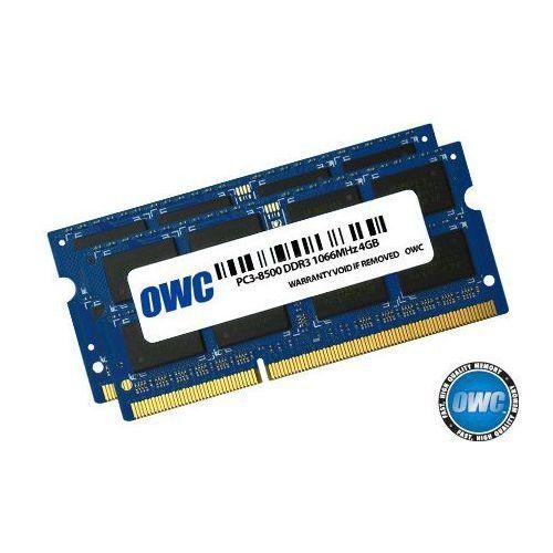 Owc so-dimm ddr3 2x4gb 1066mhz cl7 apple qualified (0794504767926)