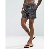 swim shorts with tie dye in black - black, New look, XS-S