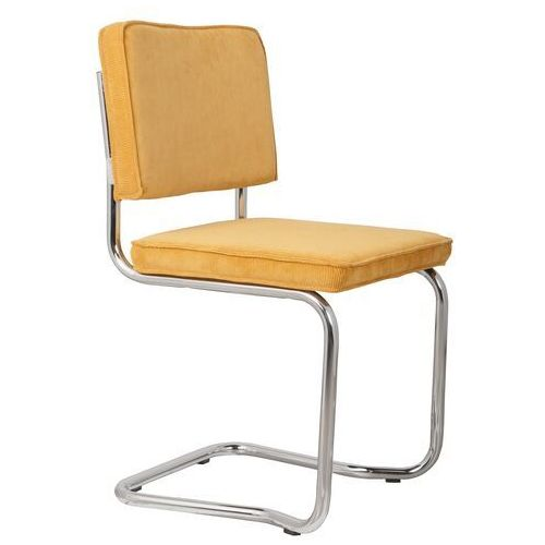 Zuiver krzesło ridge kink rib żółte 24a 1100064 (8718548013438)