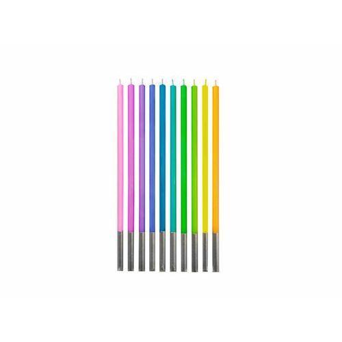 Godan Świeczki urodzinowe pastelowe - 14,5 cm - 10 szt. (5902973132564)