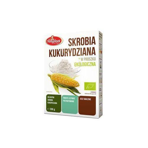 Przecena skrobia kukurydziana bio 200 g amylon marki Bio raj