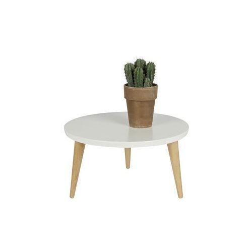 Woood :: stolik elin biały Ø50cm - 50