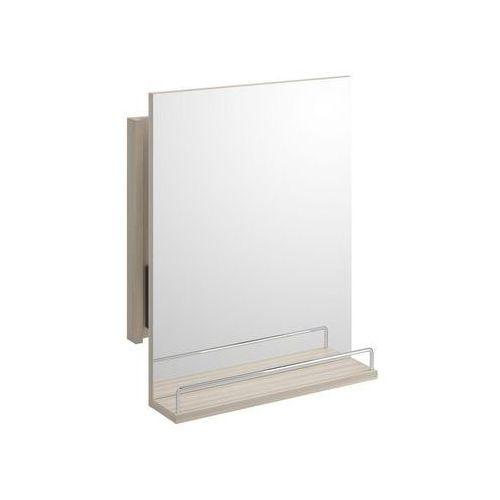 Lustro łazienkowe lustro smart z polką wysuwane marki Cersanit