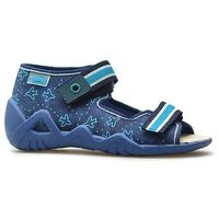 Kapcie dziecięce Befado 350P004 Granatowe, kolor niebieski