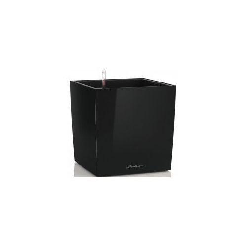 Czarna Doniczka Z Nawadnianiem Cube 30 Lakierowana Morizon